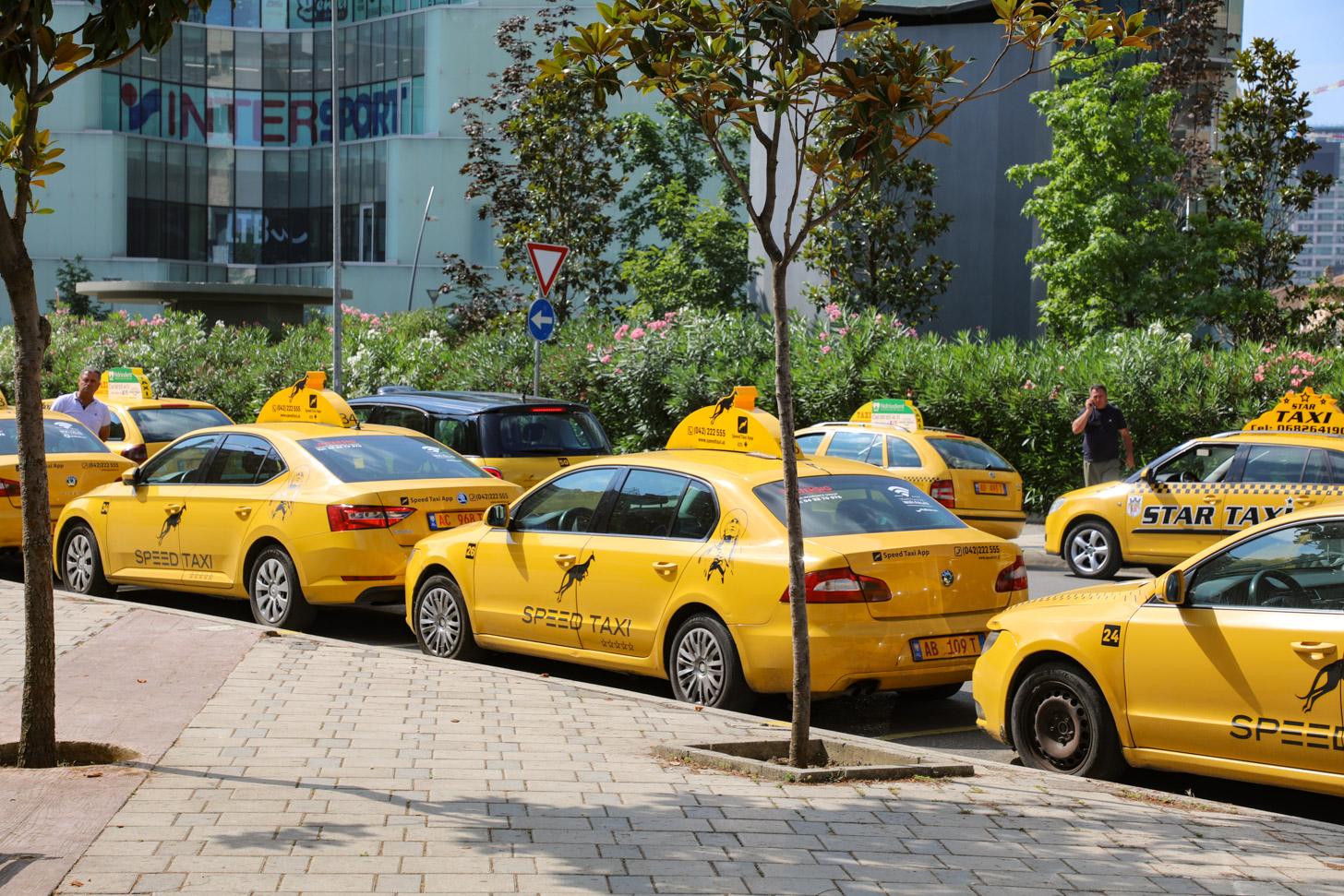 Vervoer in Tirana
