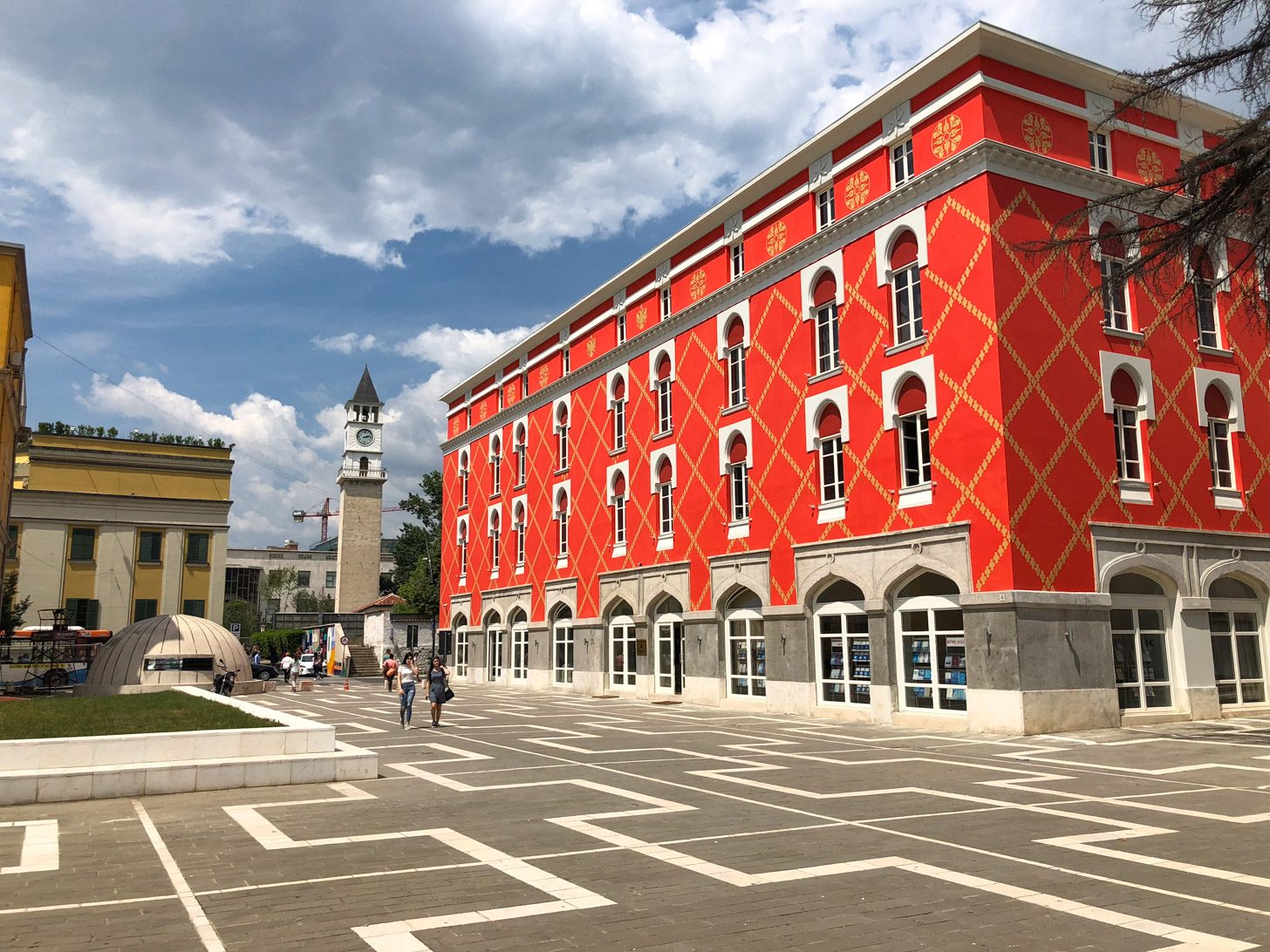 Stedentrip naar Tirana